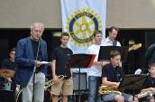 Präsident Prof. Leonhard eröffnet das Bergsträßer Big Band Benefiz 2015