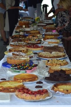 Kulinarisches Angebot beim Bergsträßer Big Band Benefiz 2015