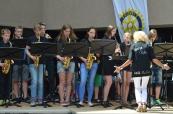 Band des AKG beim Bergsträßer Big Band Benefiz 2015 im Starkenburg-Gymnasium Heppenheim